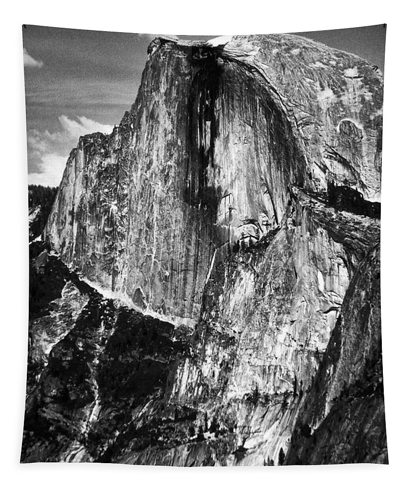 Yosemite Tapestry featuring the photograph Half Dome by Paul W Faust - Impressions of Light
