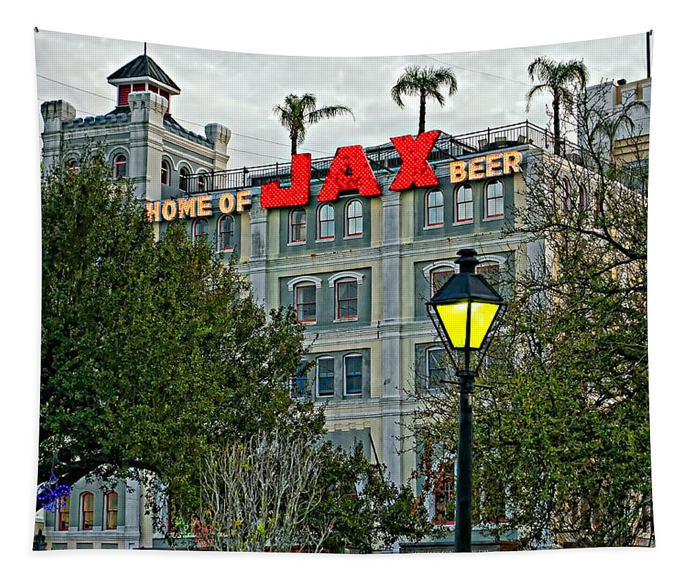 French Quarter Tapestry featuring the photograph Home Sweet Home by Steve Harrington