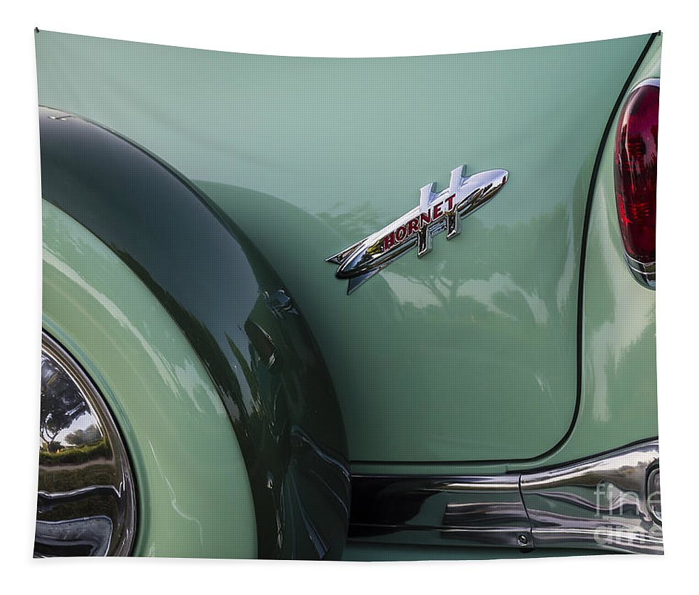 1954 Hudson Tapestry featuring the photograph Hudson Hornet by Dennis Hedberg