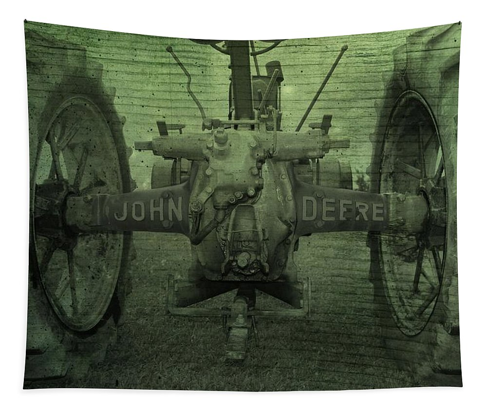 John Deere Tapestry featuring the photograph John Deere by Dan Sproul