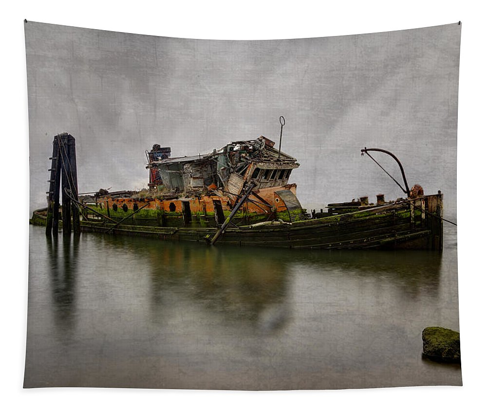 Boats Tapestry featuring the photograph Mary D Hume by Debra and Dave Vanderlaan