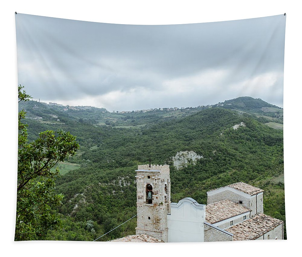 Landscape Tapestry featuring the photograph Memories by Andrea Mazzocchetti