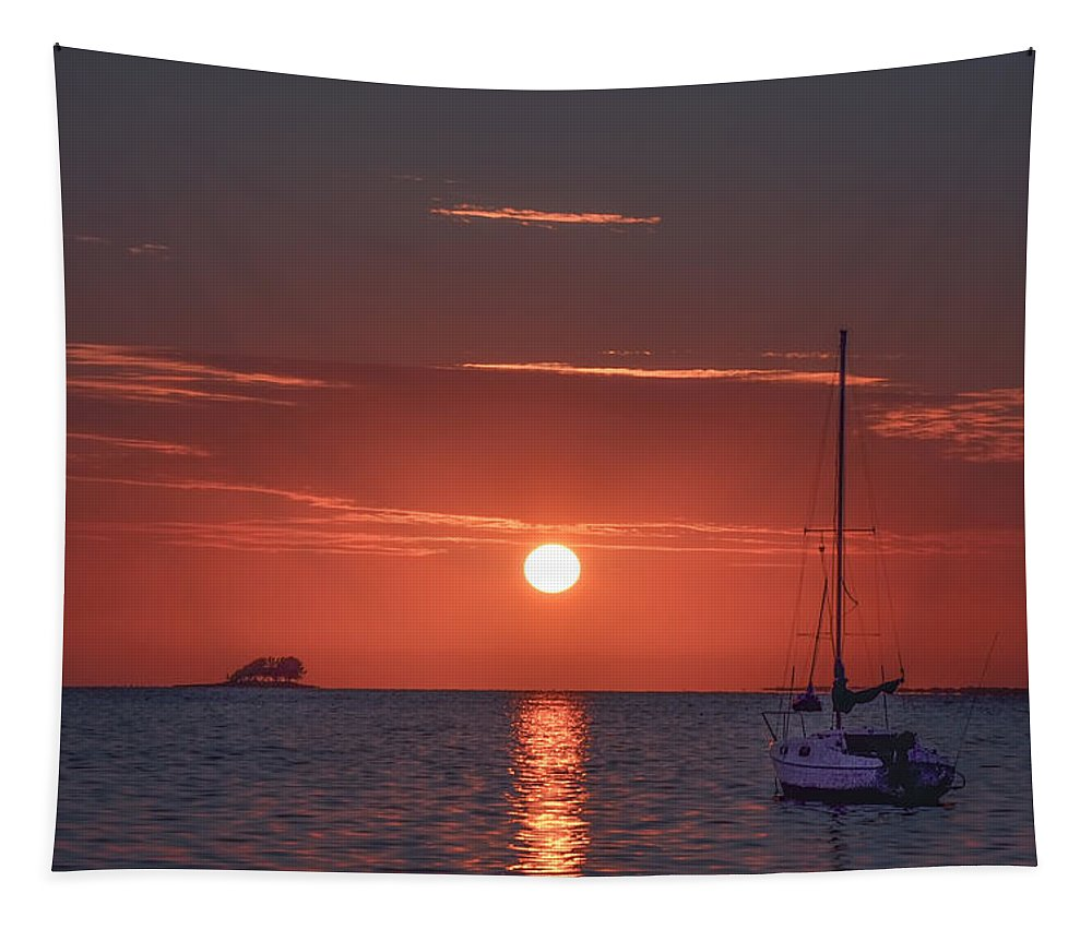 Southern Tapestry featuring the photograph Southern Sunset by Bill Cannon