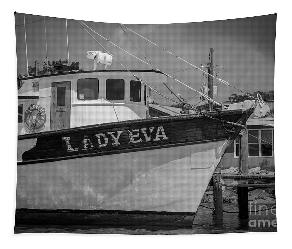 Lady Eva Tapestry featuring the photograph Southern Shrimp Tides by Dale Powell