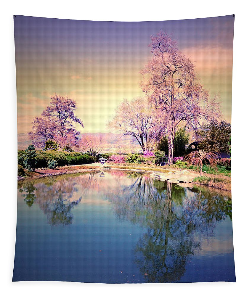 Spring Tapestry featuring the photograph Spring In The Gardens by Tara Turner