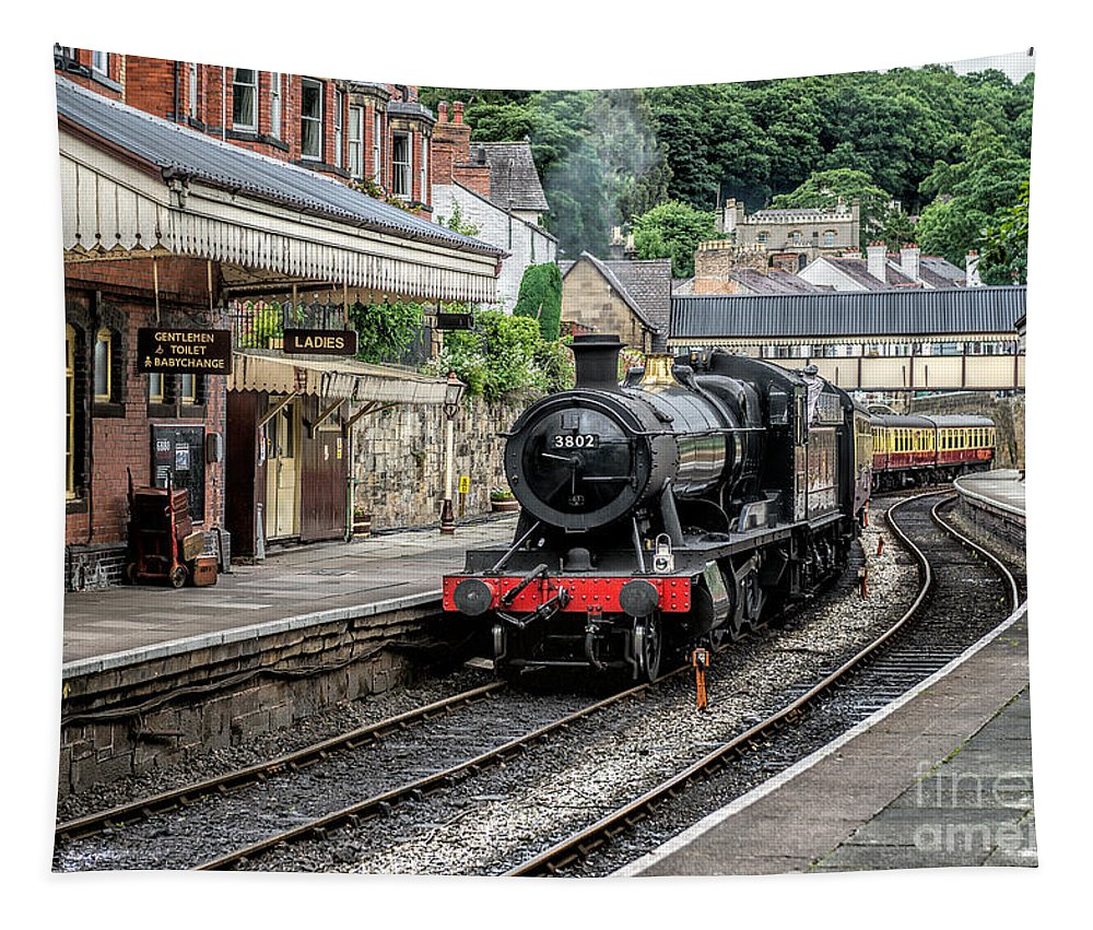 Steam Locomotive Tapestry featuring the photograph Steam Train by Adrian Evans