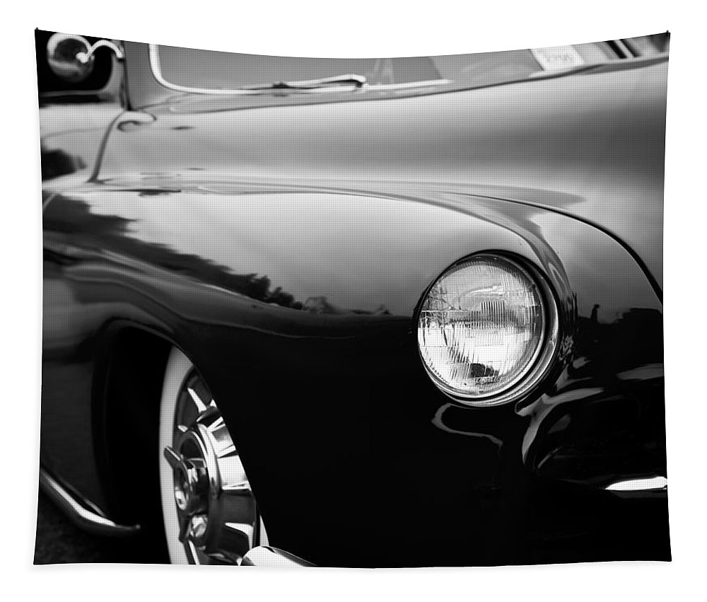 50 Tapestry featuring the photograph The 1950 Mercury by David Patterson