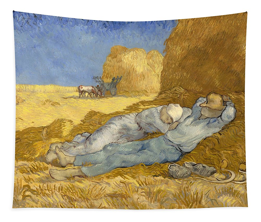 Painting Tapestry featuring the painting The Siesta by Mountain Dreams