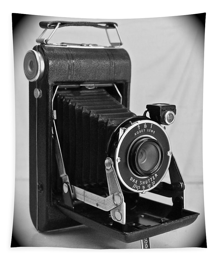 Kodak Tapestry featuring the photograph Vintage Kodak by Penny Meyers