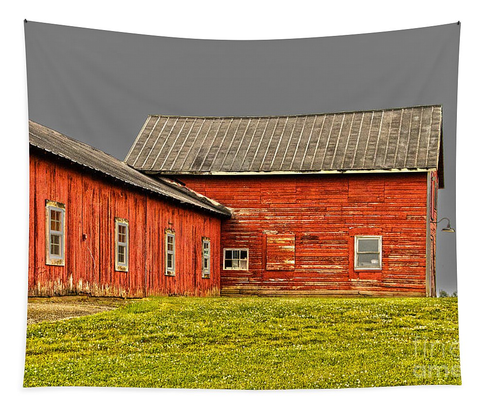 Weathered Tapestry featuring the photograph Weathered by William Norton