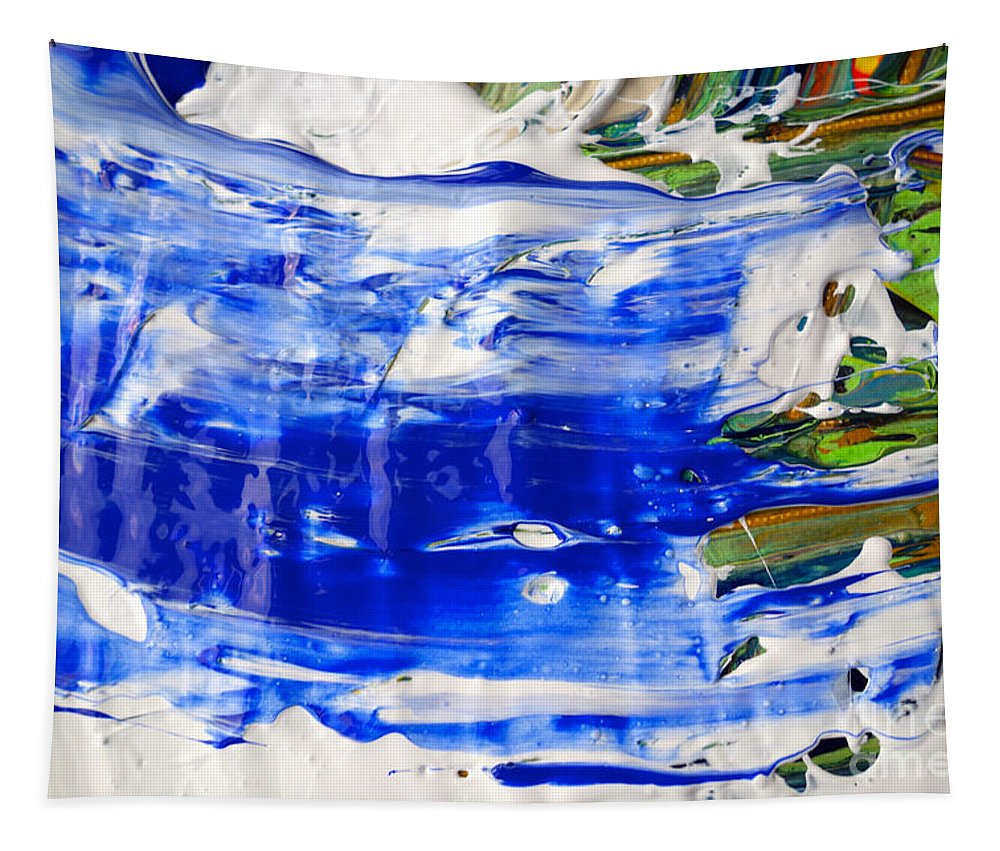 Paint Tapestry featuring the photograph Wet Paint 54 by Jacqueline Athmann