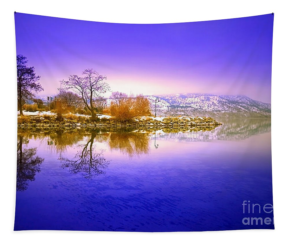 Winter Tapestry featuring the photograph Winter Glow by Tara Turner