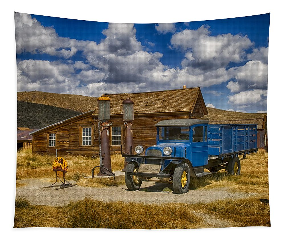 1927 Tapestry featuring the photograph 1927 Dodge Braham Bodie Ca Color Img 7299 by Greg Kluempers