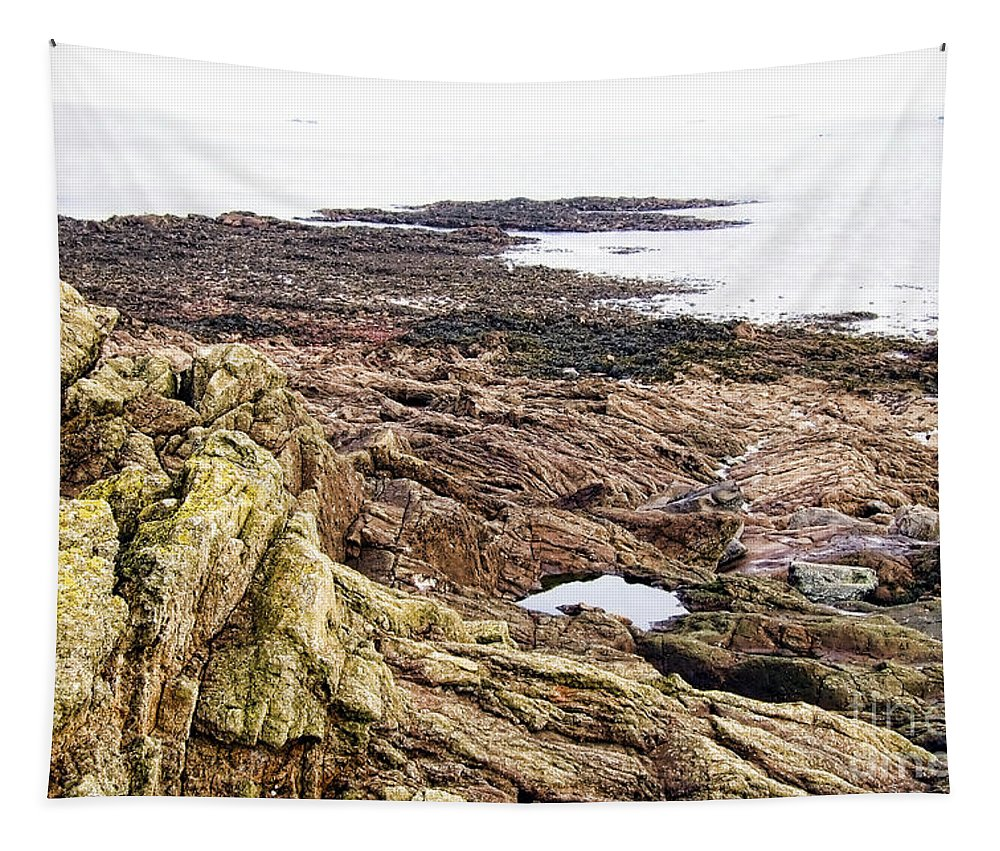 France Tapestry featuring the photograph Brittany Coast by Olivier Le Queinec