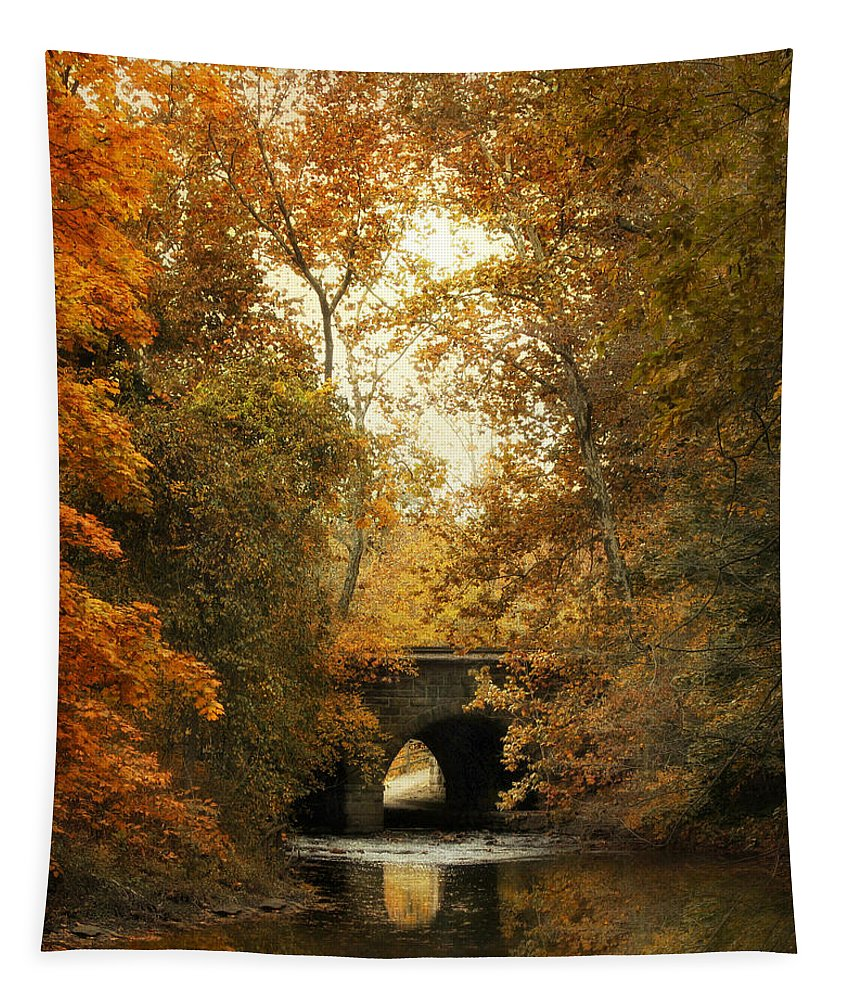 Autumn Tapestry featuring the photograph Gentle Reflections by Jessica Jenney