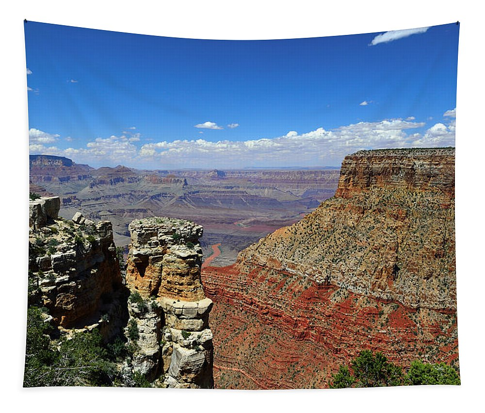 Grand Canyon Tapestry featuring the photograph Grand Canyon by RicardMN Photography