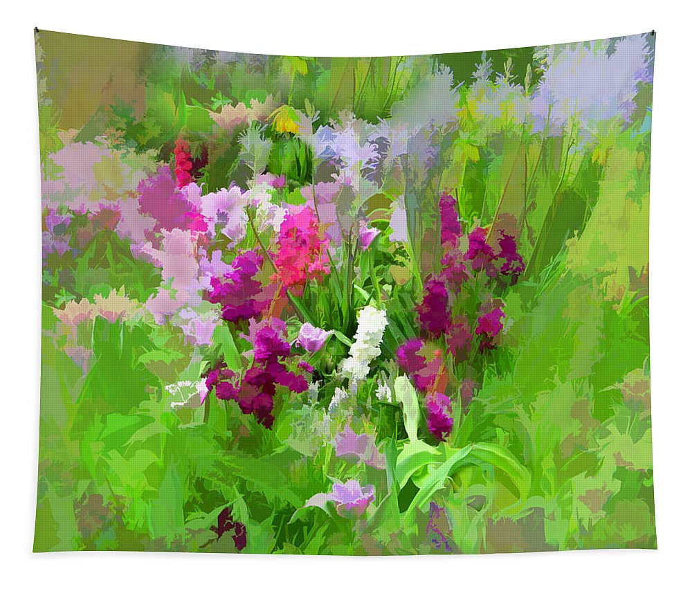 Whimsy Tapestry featuring the photograph Impressions Of Spring by Jessica Jenney