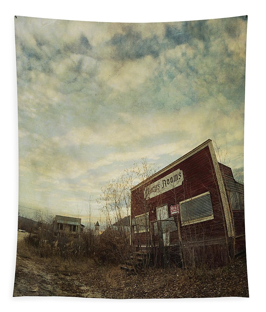 Abandoned Tapestry featuring the photograph Marys Rooms by Priska Wettstein
