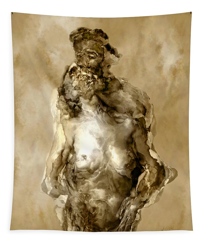 Nude Tapestry featuring the photograph Melt by Kurt Van Wagner