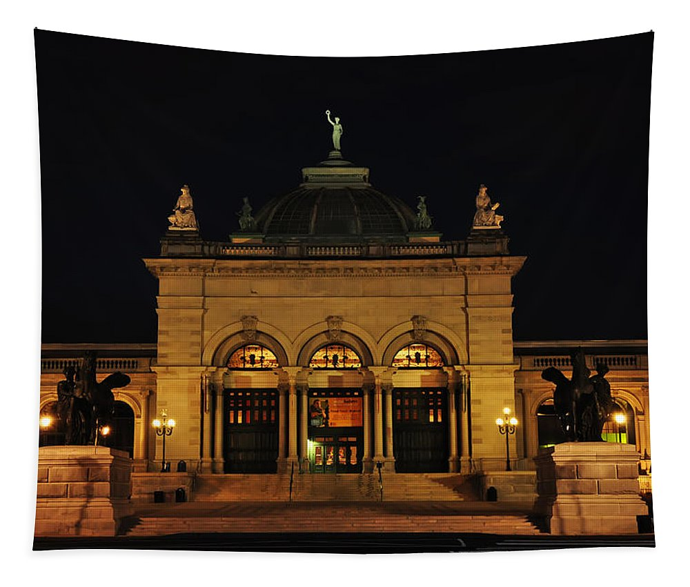 Memorial Hall - Philadelphia Tapestry featuring the photograph Memorial Hall - Philadelphia by Bill Cannon