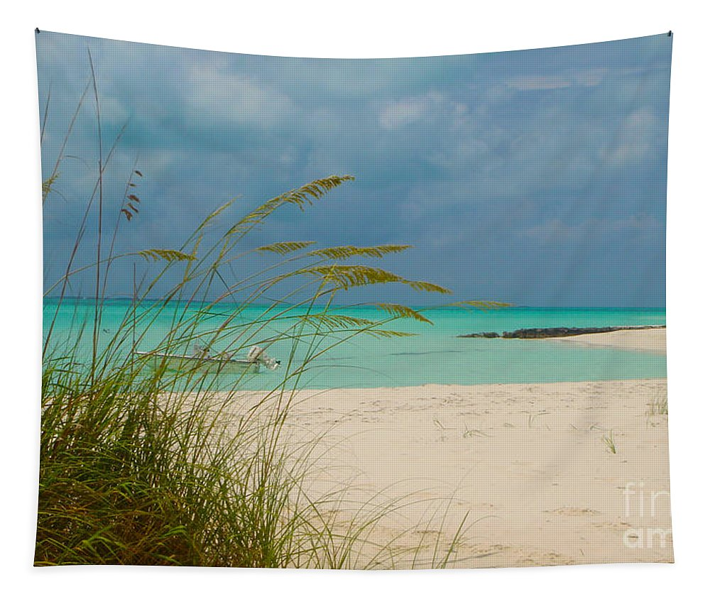 Treasure Cay Tapestry featuring the photograph Treasure Cay by Carey Chen