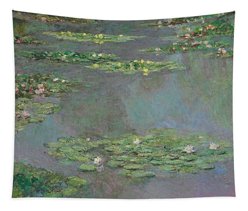 Monet Tapestry featuring the painting Water Lilies by Claude Monet