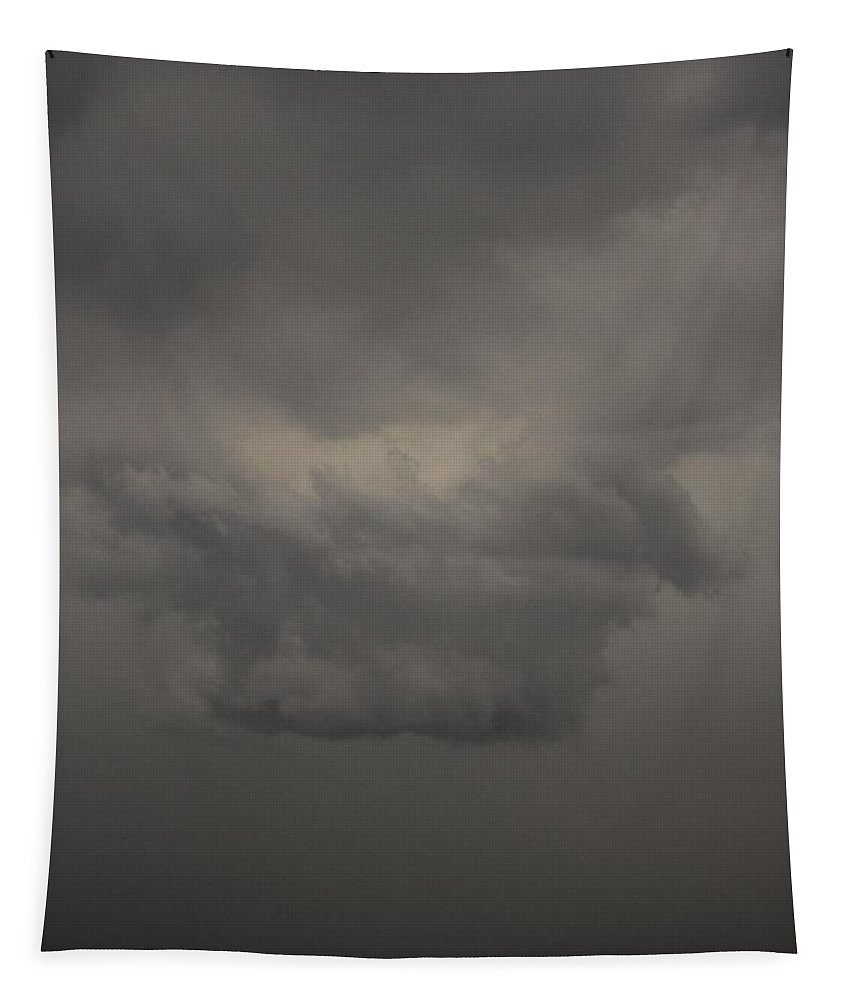 Stormscape Tapestry featuring the photograph Let The Storm Season Begin by NebraskaSC
