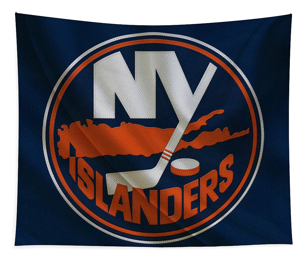 Islanders Tapestry featuring the photograph New York Islanders by Joe Hamilton