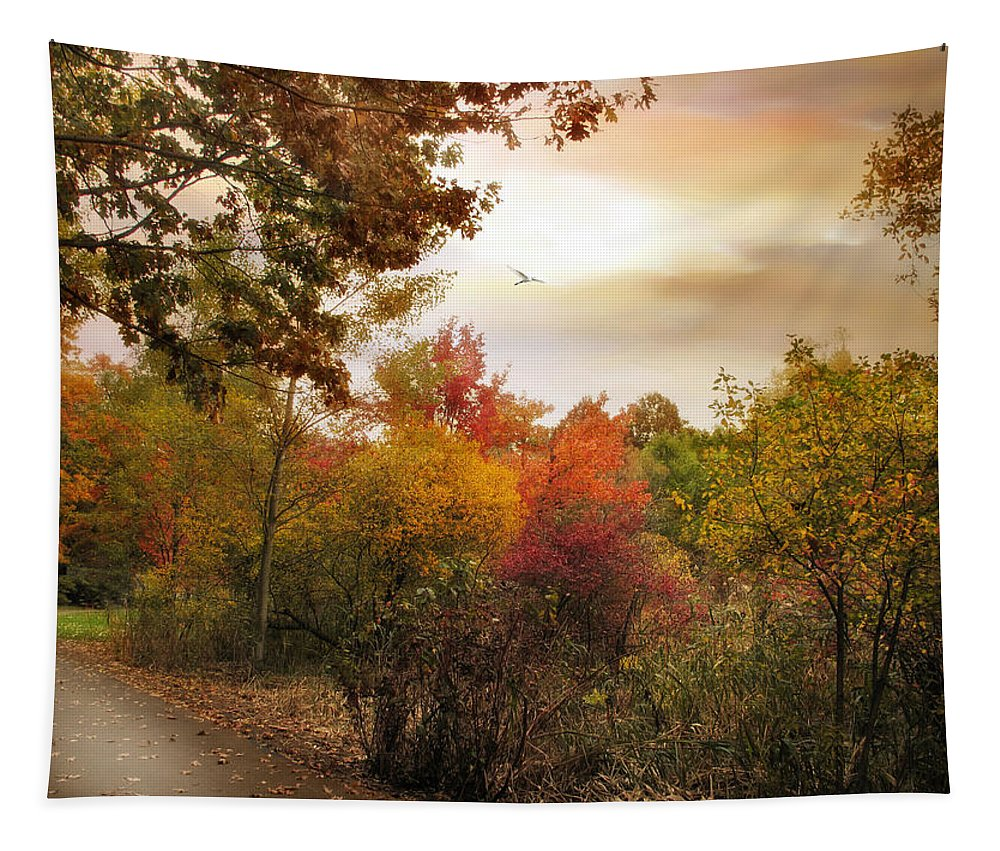 Autumn Tapestry featuring the photograph Autumn Hues by Jessica Jenney