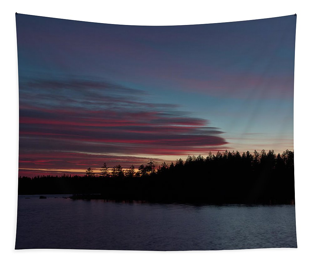 Finland Tapestry featuring the photograph Koirajarvi by Jouko Lehto