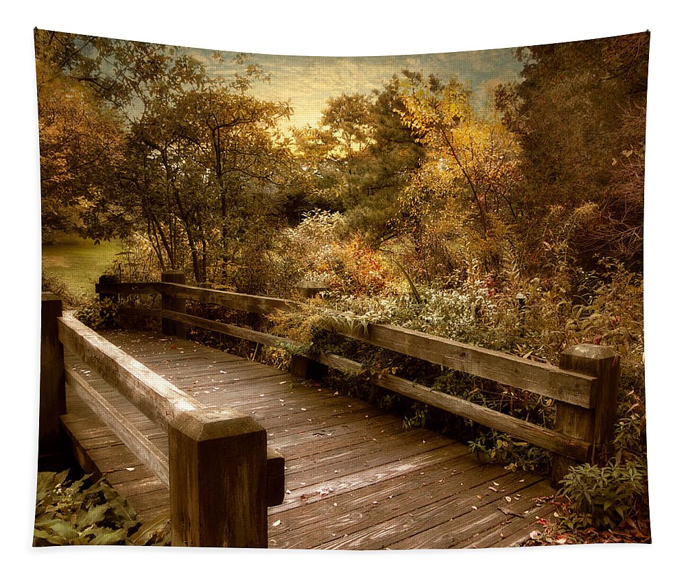 Nature Tapestry featuring the photograph Splendor Bridge by Jessica Jenney