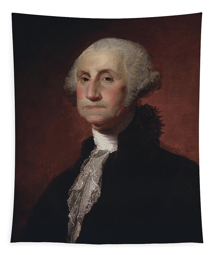 The President Tapestry featuring the painting George Washington by Gilbert Stuart