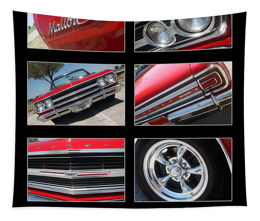 Camaro Tapestry featuring the photograph 65 Malibu Ss Poster by Gary Gingrich Galleries