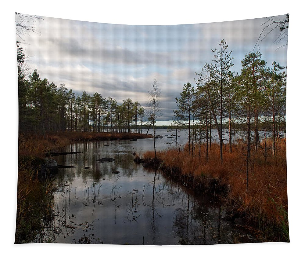 Lehto Tapestry featuring the photograph Koirajarvi by Jouko Lehto