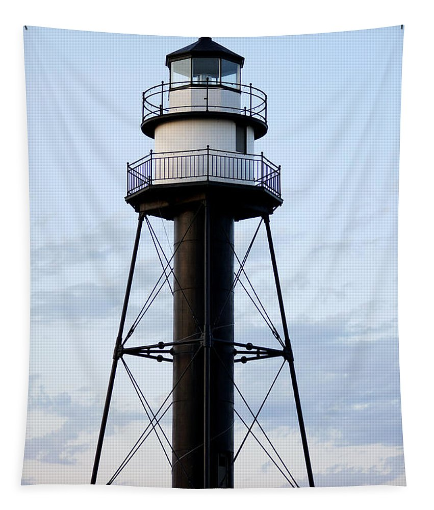 Lighthouses Tapestry featuring the photograph Lighthouse by Lori Tordsen