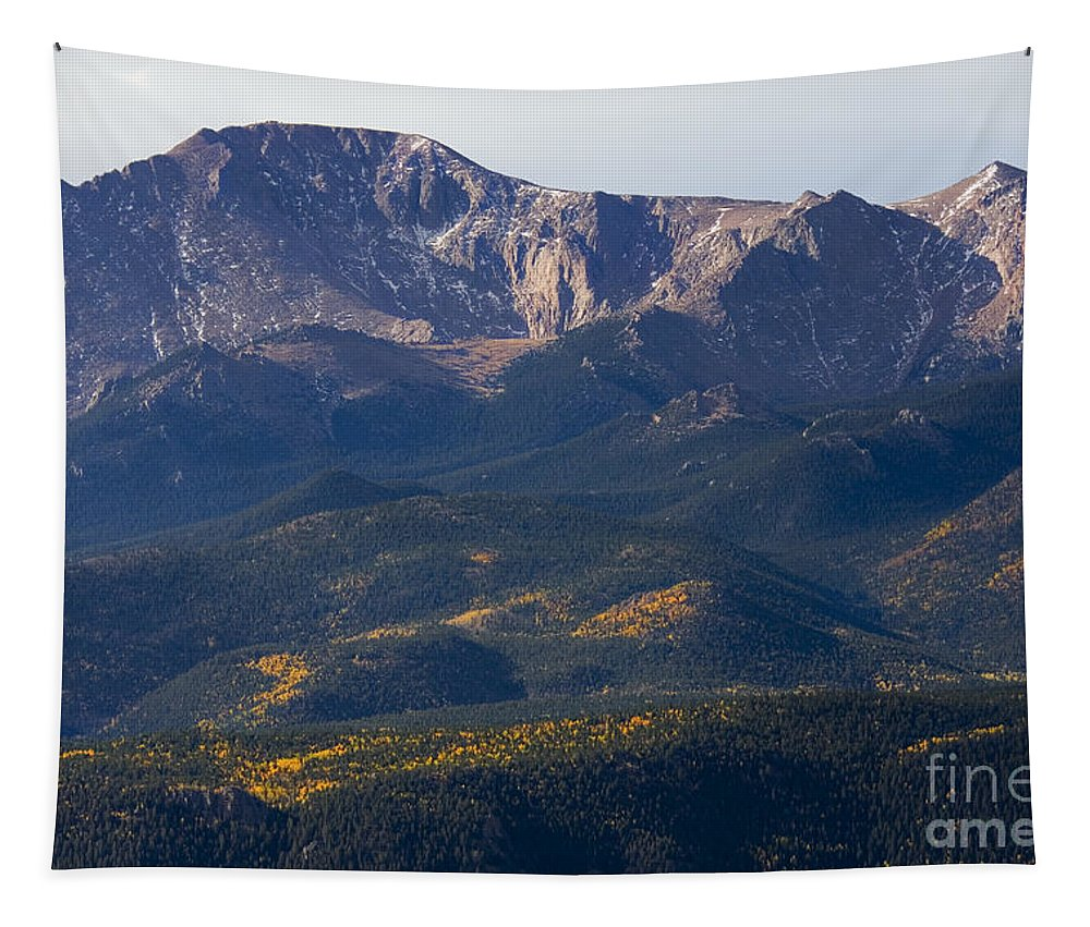 Autumn Tapestry featuring the photograph Rocky Mountain Autumn by Steve Krull