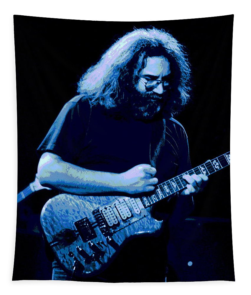 Grateful Dead Tapestry featuring the photograph A Cat Under The Blue Stars by Ben Upham