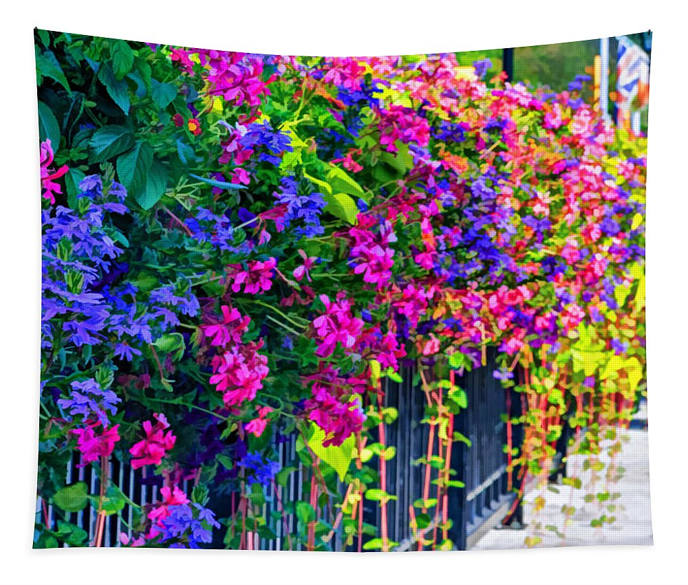 Bolton Tapestry featuring the photograph A Journey Thru Color by Steve Harrington