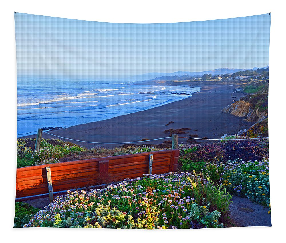 Morning Tapestry featuring the photograph A Place To Reflect by Lynn Bauer
