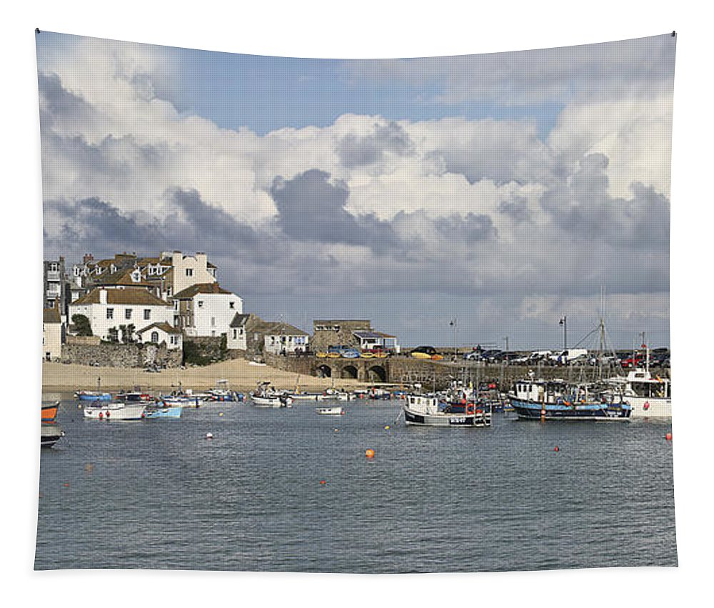 St Ives Tapestry featuring the photograph A Postcard From St Ives by Terri Waters