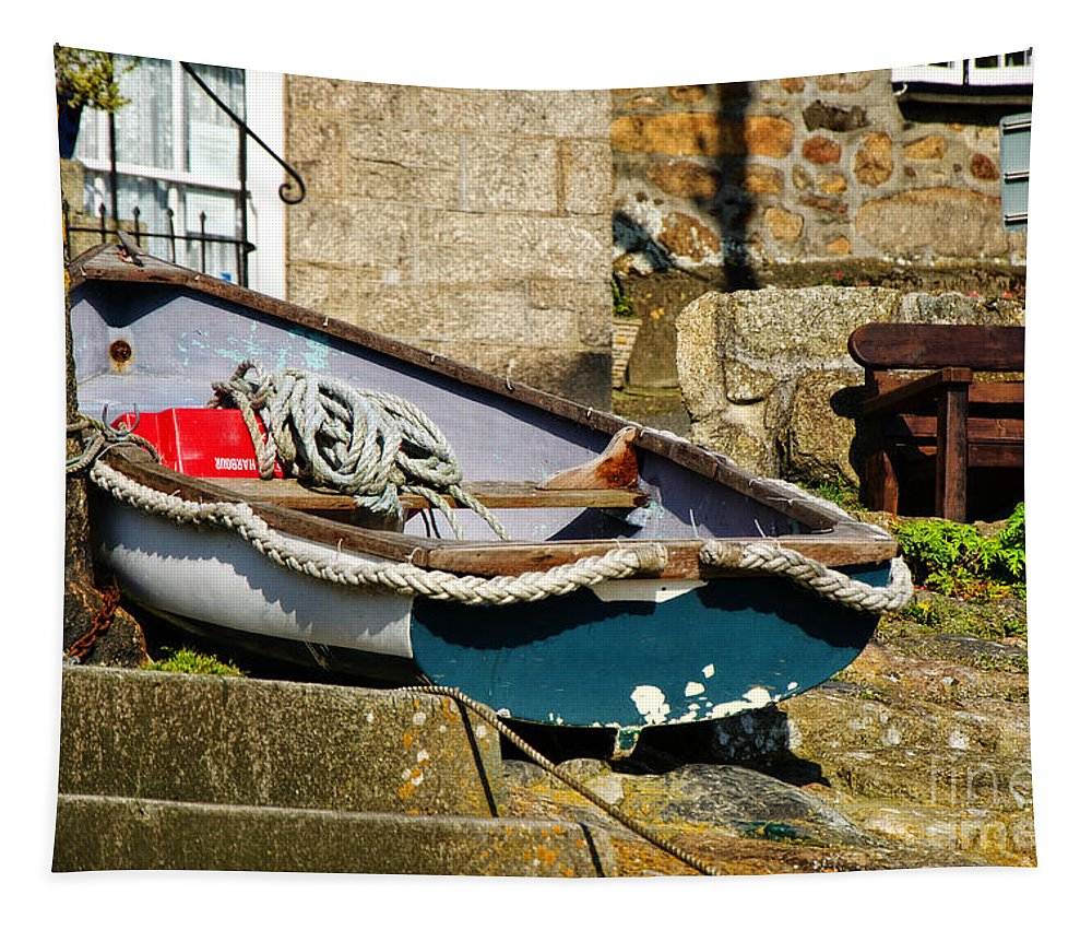 Cornwall Tapestry featuring the photograph Above The Tideline by Susie Peek