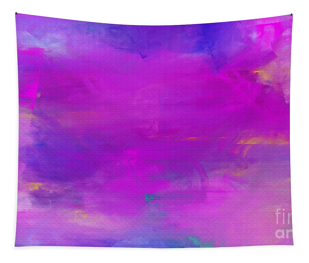 Abstract Tapestry featuring the digital art Abstract Splendor by Andee Design