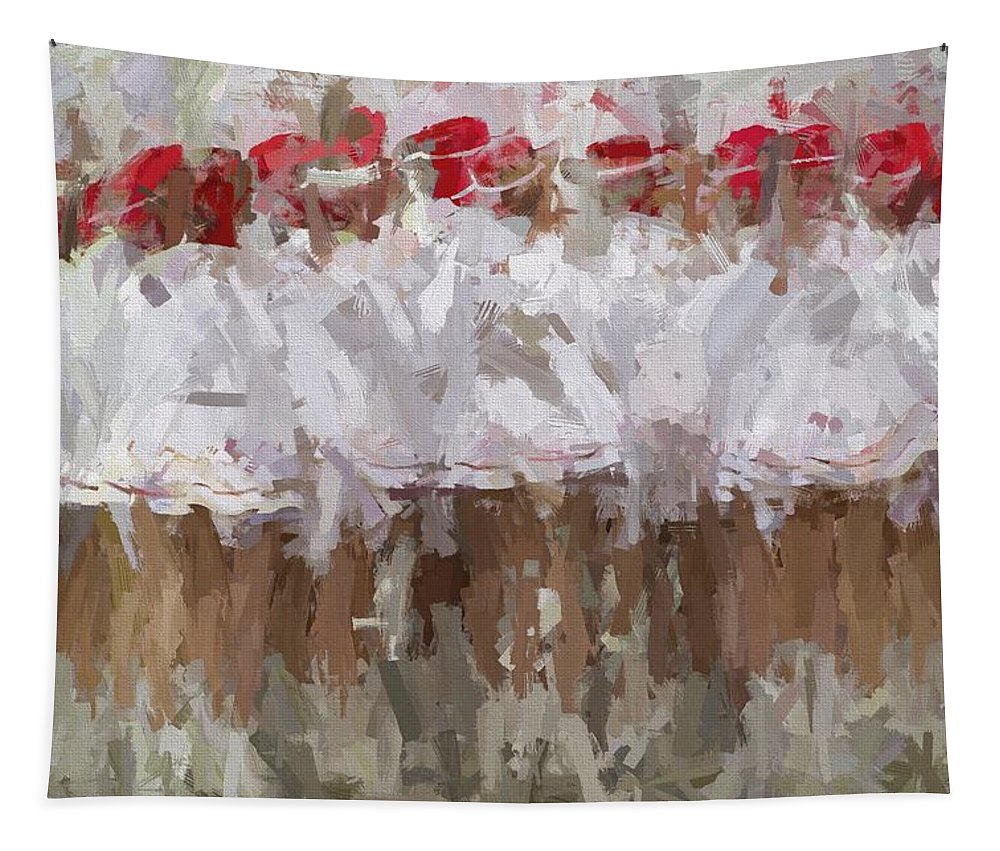 Abstract Tapestry featuring the photograph Abstracted White by Alice Gipson