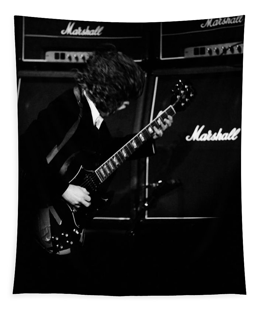 Ac Dc Tapestry featuring the photograph Ac Dc #5 by Ben Upham