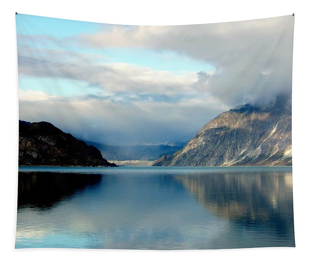 Glacier Bay Tapestry featuring the photograph Alaskan Splendor by Karen Wiles