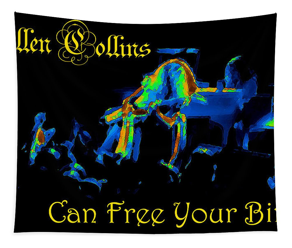 Allen Collins Tapestry featuring the photograph A C Can Free Your Bird #2 by Ben Upham