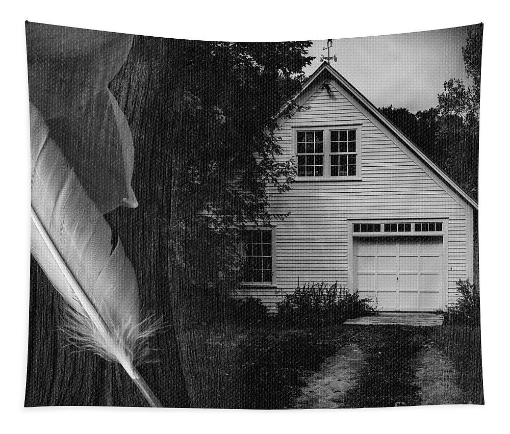 Square Tapestry featuring the photograph American Dream IIi Square by Edward Fielding