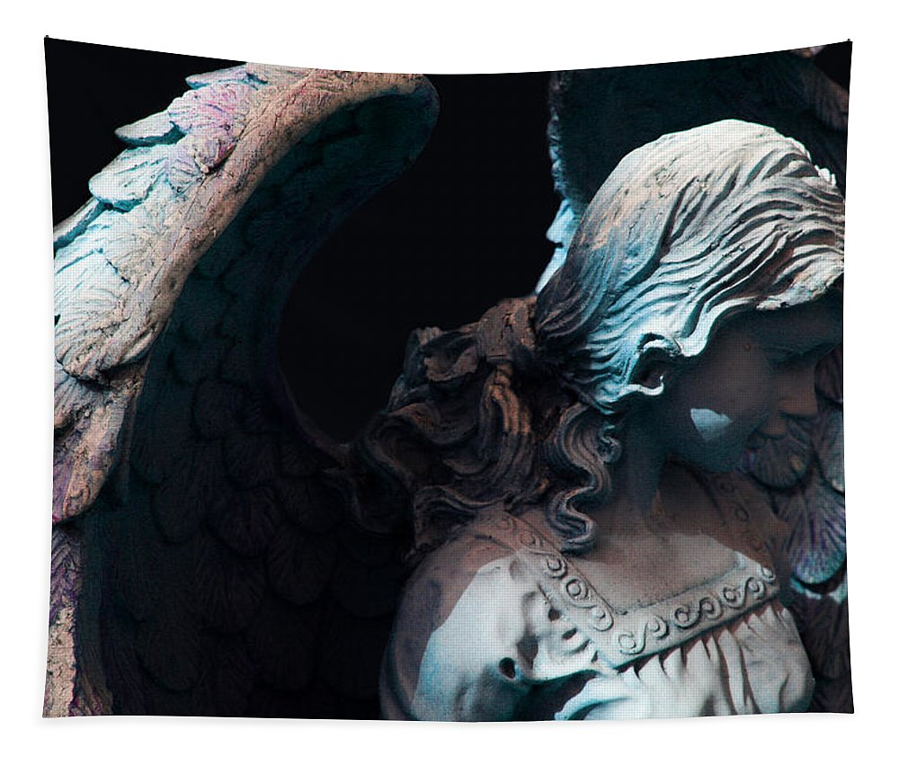 Angel Tapestry featuring the photograph Angel - Alyssa by Susan McMenamin