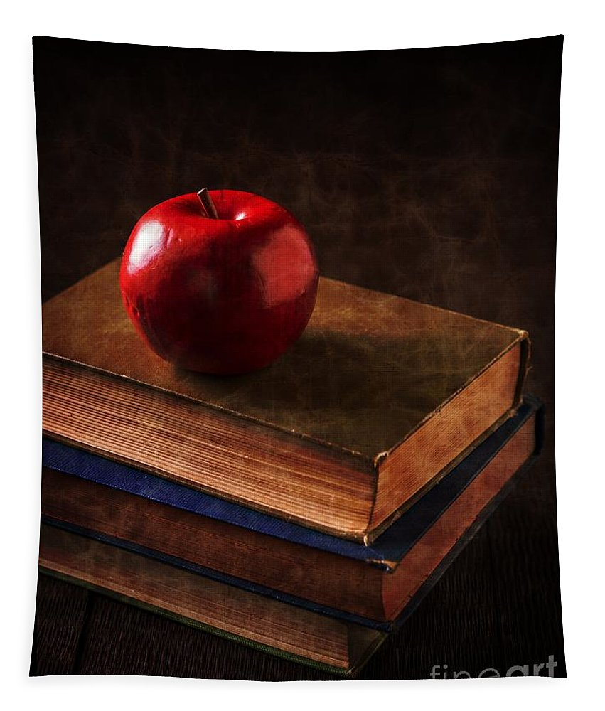 Professor Tapestry featuring the photograph Apple For Teacher by Edward Fielding