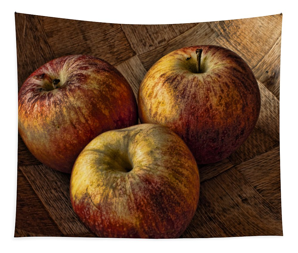Dieting Tapestry featuring the photograph Apples by Steve Purnell
